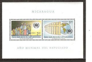 Nicaragua C453a World Refugee Year photo
