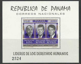 Panama 1968 Sc C363a Famous People photo