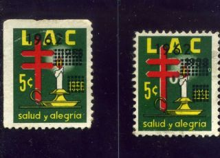 Liga Lac 2cinderellas Candelabro - Ovp.  1962 Colombia photo