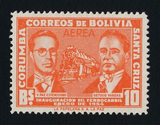 Bolivia C227 No O/p Trains,  Pres Estenssoro,  Vargas photo