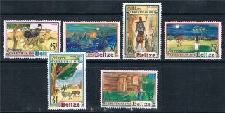 Belize 1991 Christmas Folklore Sg 1114/9 photo