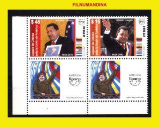 Uruguay 2014 Upaep America Famous Leaders Chavez photo