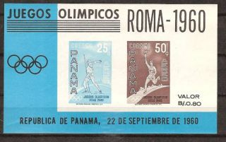 Panama C237a Olympic Games Rome 1960 photo