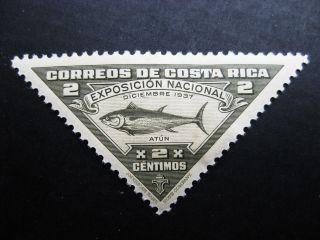 Costa Rica 1937 2c Olgray Stamp Sc 186