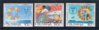 Guyana 1980 Medical Research Council Sg 749/51 photo
