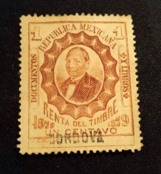 Mexico Revenue Stamp photo