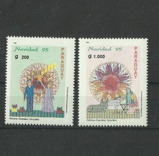 1316.  Paraguay 1995.  Christmas photo