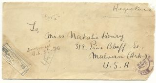 Cover,  Iraq Sc.  2,  To Malvern,  Ark.  1926. photo