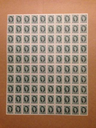 Iran Stamp Sheet - 1966 Reza Shah Pahlavi 5 D Stamp photo