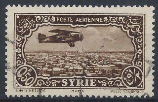 Syria 1931 Sg261a 0p50 Sepia Air A 019 photo