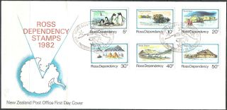 Ross Dependency First Day Cover 1982 photo