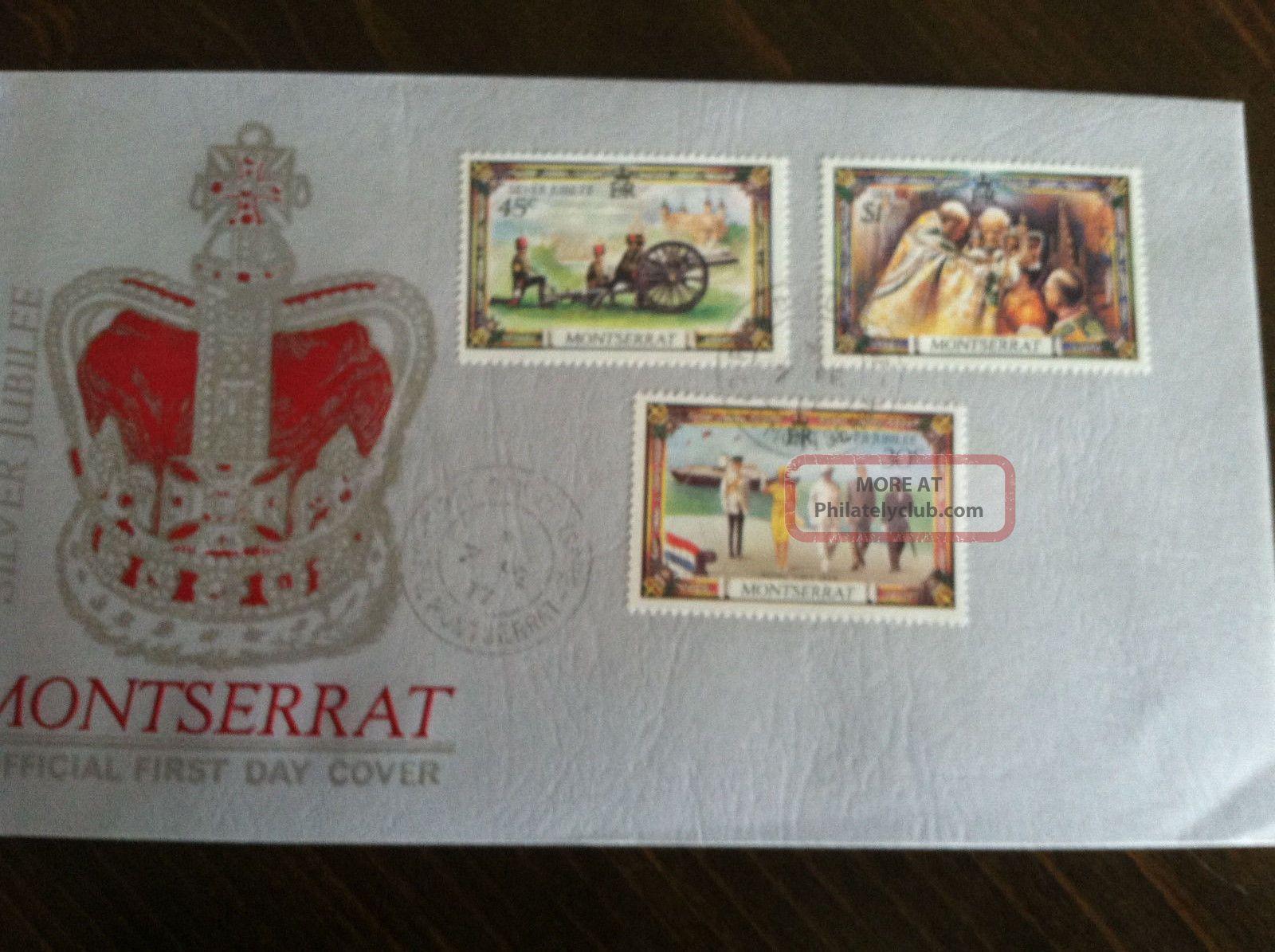 1977 First Day Issue Montserrat Stamp Worldwide photo