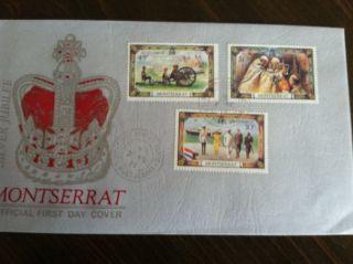 1977 First Day Issue Montserrat Stamp photo