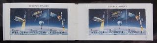 Sweden 1991 Europa - Space Booklet, . photo
