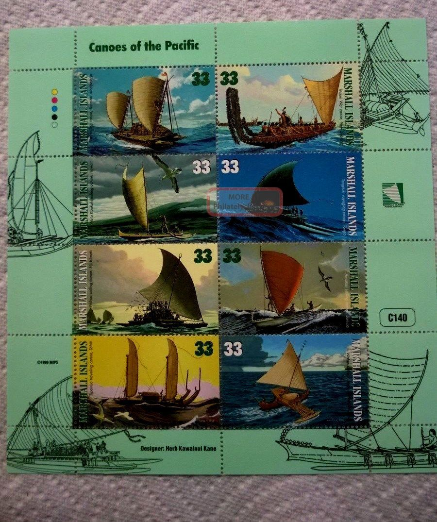 1999 Marshall Islands Sheet Of 8