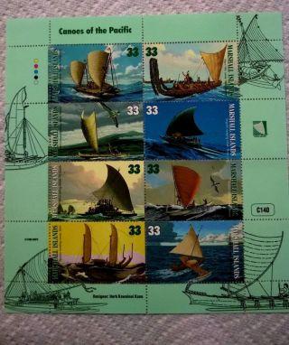 1999 Marshall Islands Sheet Of 8