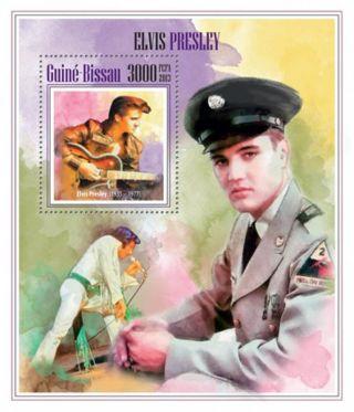 Guinea - Bissau - 2013 Elvis Presley Stamp Souvenir Sheet Gb13508b photo