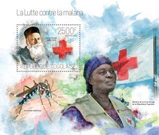 Togo 2013 - Nobel Laureate Henry Dunant Stamp Souvenir Sheet 20h - 795 photo