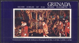 Grenada 792c Booklet - Royalty photo