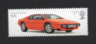 Lotus Esprit - 1976,  Gb 2013 Um Stamp photo