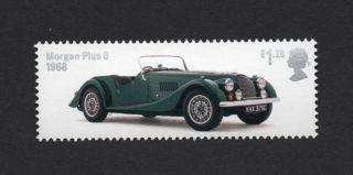 Morgan Plus 8 - 1968,  Gb 2013 Um Stamp photo