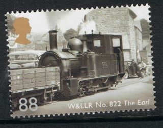 Gb 2014 Classic Locomotives Of Wales - W&llr No 822 ' The Earl ' - Nh photo