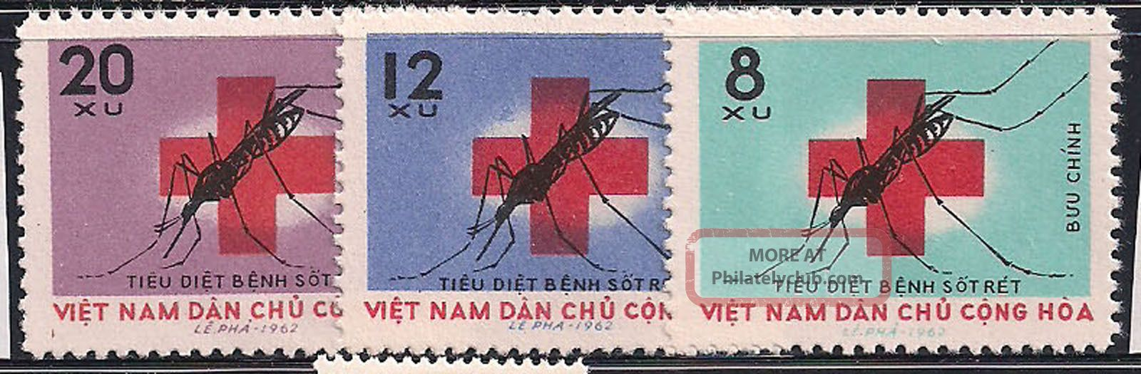 Vietnam - 1962 Insects - Vf 220 - 2 Animal Kingdom photo