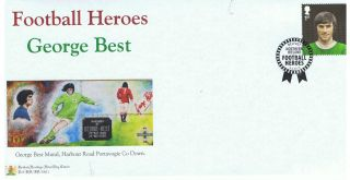 George Best - Football Hero Limited Edition (100 Only) British Heritage Cover photo