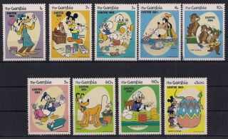 Gambia 1984 - Walt Disney - - Vf 501 - 9 photo