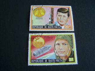 Upper Volta.  Famous People.  John F.  Kennedy.  Baden Powell.  Pele.  De Gaulle.  5339 photo
