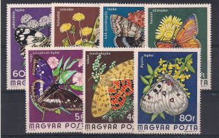 Hungary - 1974 Butterflies - Vf 2394 - 400 photo