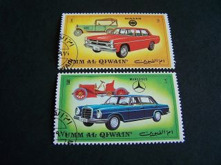 Umm - Al - Qiwain.  The Old And The.  Cars.  (5350). photo