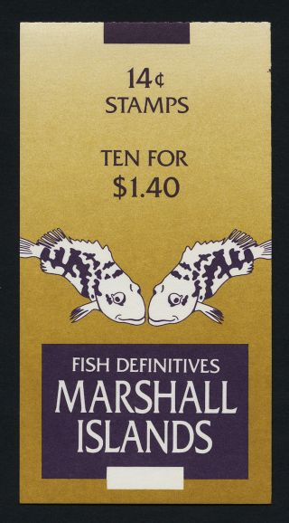 Marshall Islands 170a Booklet Fish photo