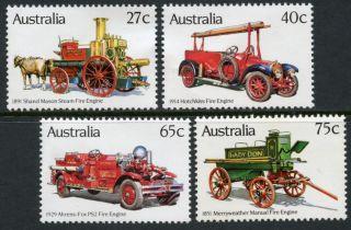 Australia: Fire Engines (857 - 860) photo