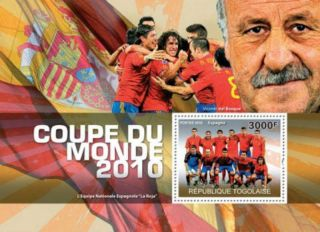 Togo - World Cup Football - Stamp S/s 20h - 081 photo