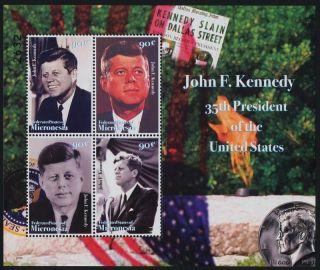 Micronesia 764 John F Kennedy photo