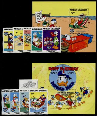 Antigua 808 - 18 Disney,  Caribbean Cruise Holiday,  Donald Duck 50th Anniv photo