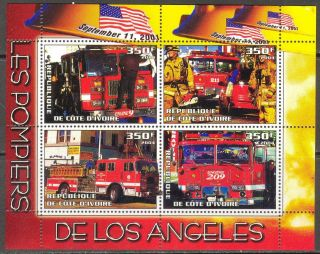 2004 Firetrucks Firemans Of Los Angeles S/s photo
