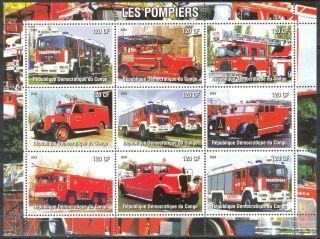 2004 Firetrucks Engines Ii Sheet Of 9 photo