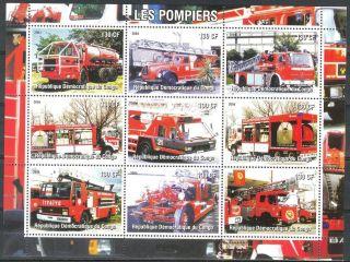2004 Firetrucks Engines Iii Sheet Of 9 photo