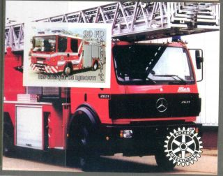 2004 Firetrucks Engines I S/s Imperf. photo