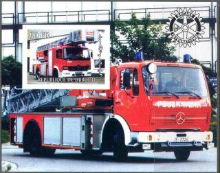 2004 Firetrucks Engines Ii S/s Imperf. photo
