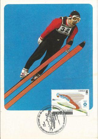 Andorra Española / Spanish Andorra Winter Olimpics Sarajevo 84 photo