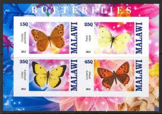 2013 Butterflies Iii Imperf.  Sheet Of 4 5m I 003 photo