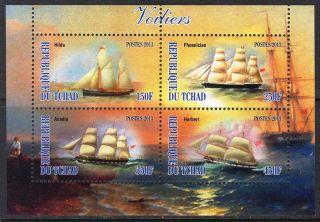 2013 Sailing Ships Ii Sheet Of 4 6t 209 photo