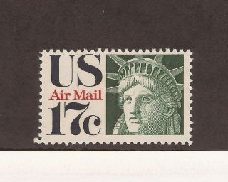 Scott C - 80 - Airmail - 0.  17 Cents - photo