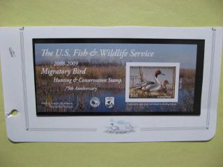 Us.  Rw75a Federal Duck Stamp Post Office Fresh photo