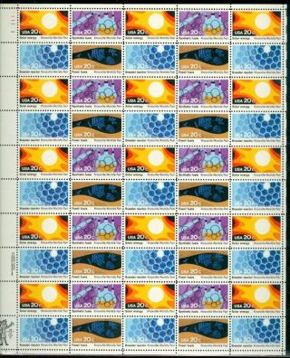 Us 2006 - 09 20c Knoxville World Fair Sheet Of 50 Pof B1 photo