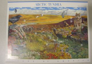 Arctic Tundra (scott 3802) Nature Of America Series photo