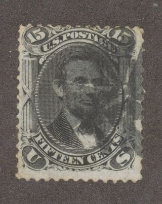 Scott 98 Early Us 15 Cent Lincoln. . . photo